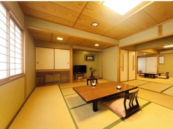 二間続きの客室 一般客室 【小波】/一例
