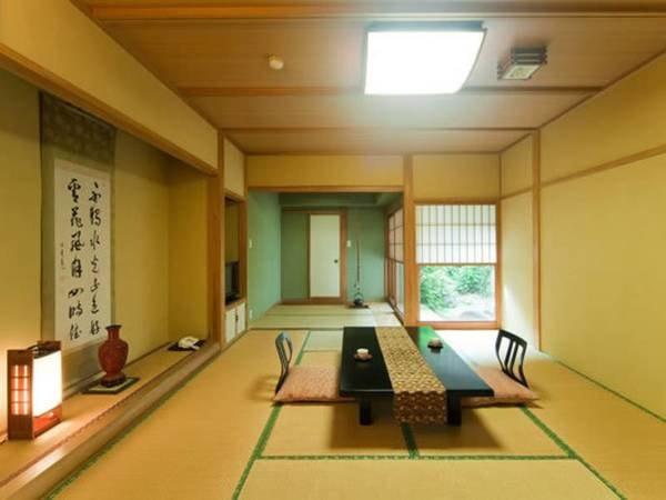 源泉掛け流し檜風呂付客室【萩】/一例