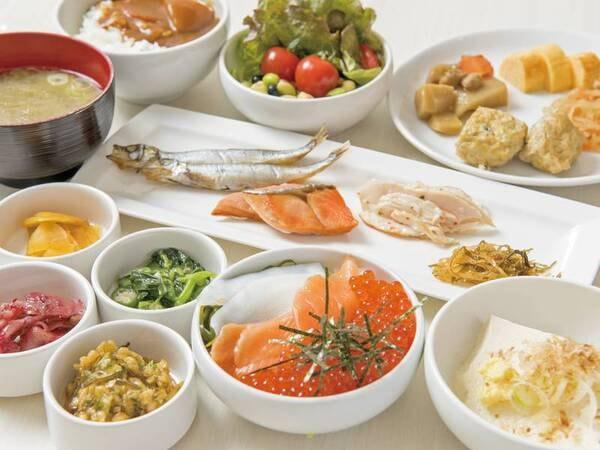 【朝食/例】いくらも食べ放題!オリジナル海鮮丼も