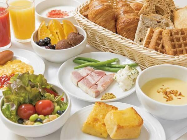 【朝食/例】洋食もご用意♪お好みに合わせてどうぞ