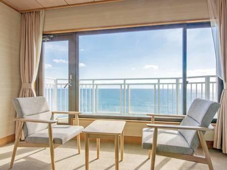 【海側10畳和室/例】バルコニー付き!絶景を眺めてリラックス
