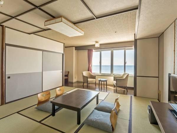 【海側和室/例】オーシャンビュー!12.5畳の寛ぎの客室