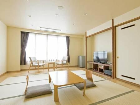 【8畳和室/例】2019年4月にリニューアル!シンプルで清潔感のある快適客室!