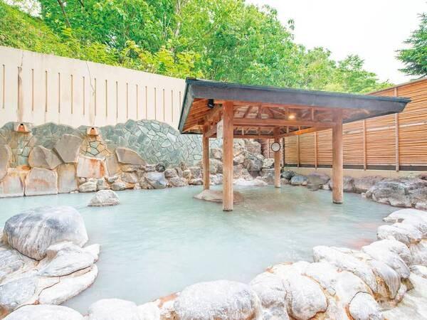 【登別万世閣】湯の花浮かぶ白濁した名湯「登別温泉」 を満喫!夕食は季節限定メニューもたのしめる約60種バイキング♪
