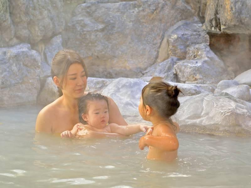 【露天風呂】ご家族で心も体もリラックス♪