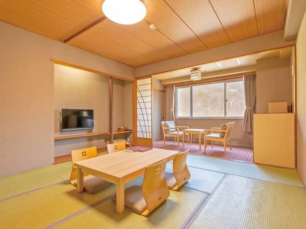 【禁煙和室/例】広さ8~10畳の和室(バス・洗浄機能トイレ付)にご案内