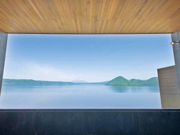 【8階・星の湯】晴れた日は羊蹄山や洞爺湖を一望