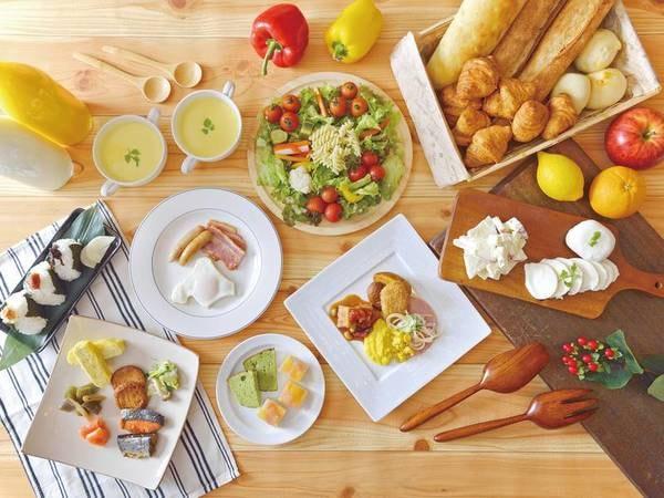 【朝食ビュッフェ/例】和食・洋食が豊富!