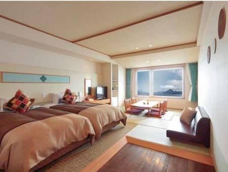 【客室/例】湖側和洋室(西館)