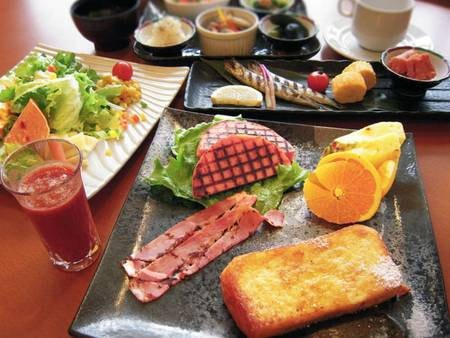 朝食のみ/一例