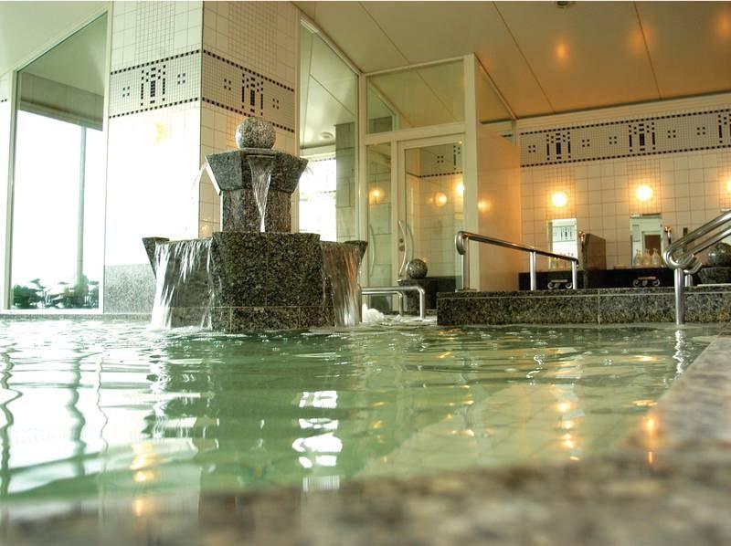 【大浴場】露天風呂とサウナも併設