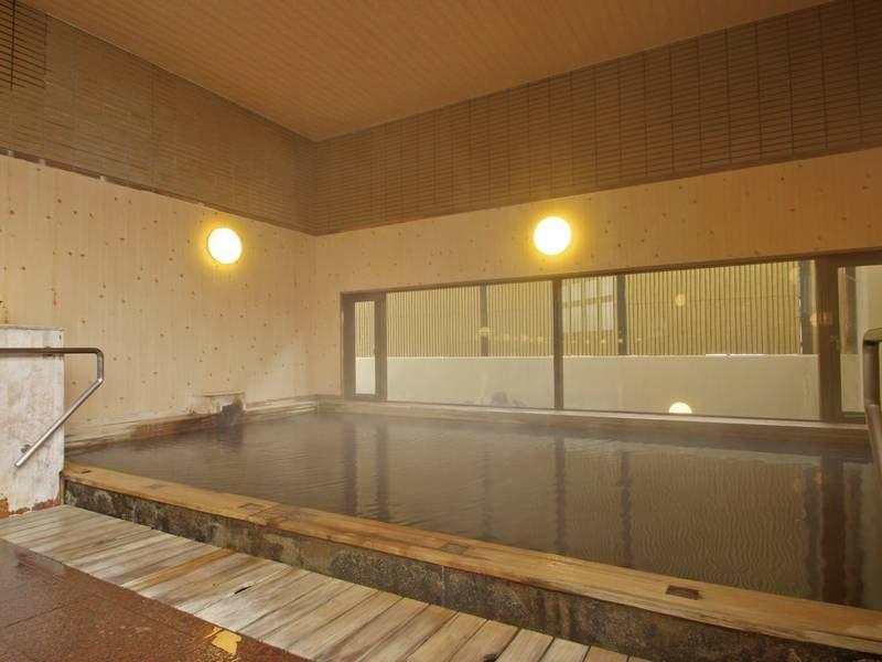 【大浴場】保湿成分も豊富な温泉で身体リフレッシュ!