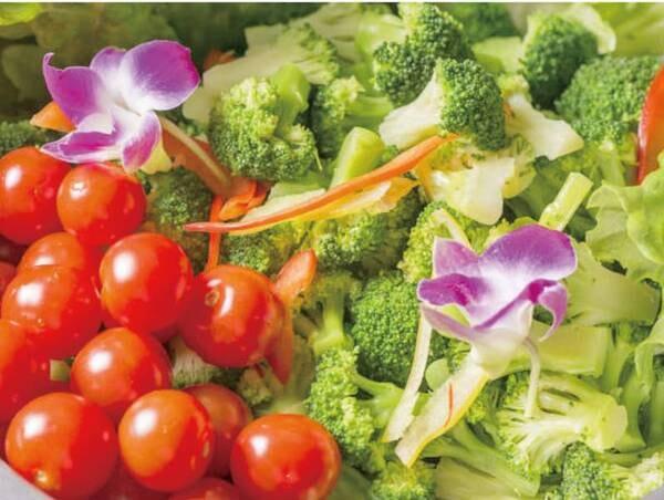 【和洋中ビュッフェ/例】地元音更町で採れた野菜