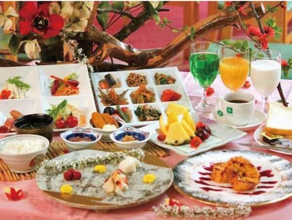 【朝食バイキング/例】豊富なメニューがならぶ!