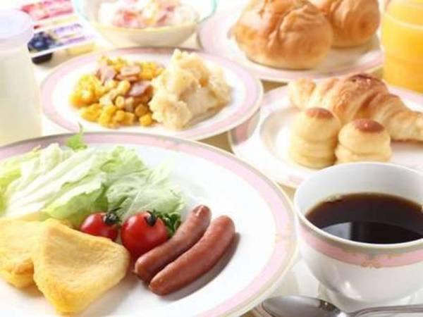 【朝食/例】朝食は和洋バイキング♪(セットメニューの場合あり)