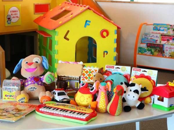 【2階キッズコーナー】色々なおもちゃを取り揃えています