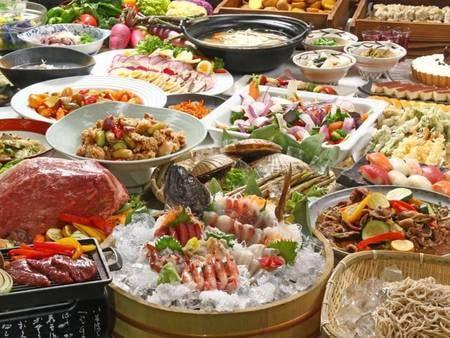 ふらの農家ビュッフェ!今年は野菜だけではなく海鮮もグレードアップ!
