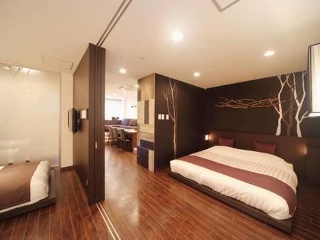 【モリフクロウ】50平米の洋室スイートルームです