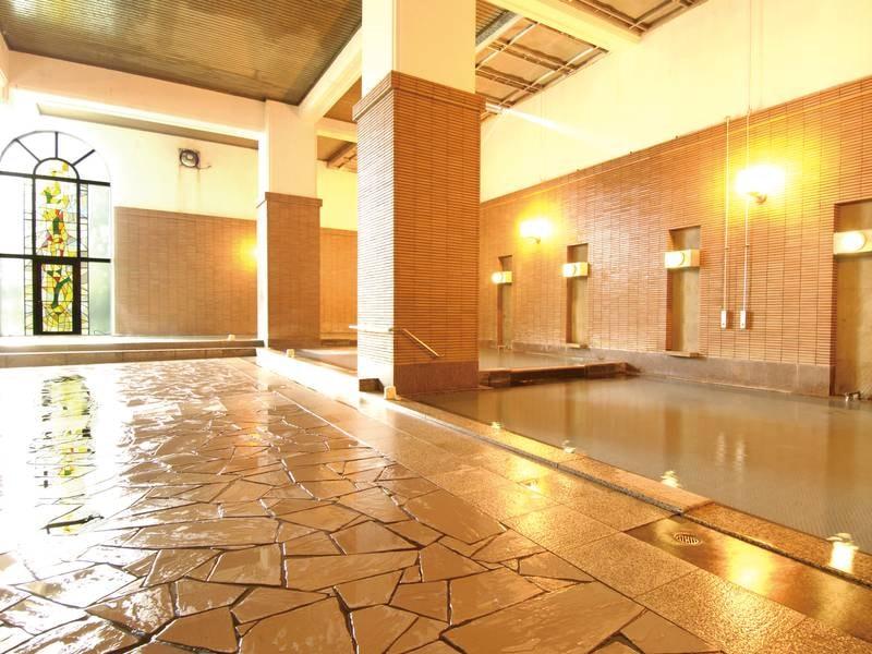 【欧風大浴場<チニタの湯>】エキゾチックな雰囲気漂う大浴場