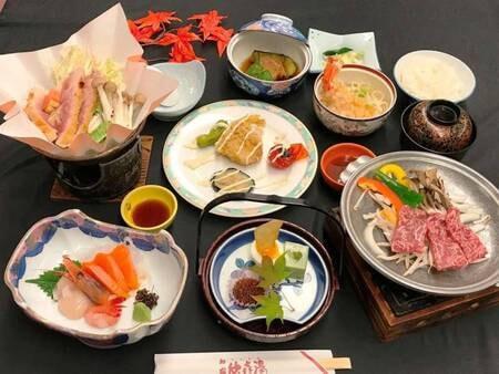 山海会席<竹コース>+メンメの塩焼き付/一例