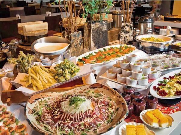 【夕食/例】季節料理はビュッフェスタイルで