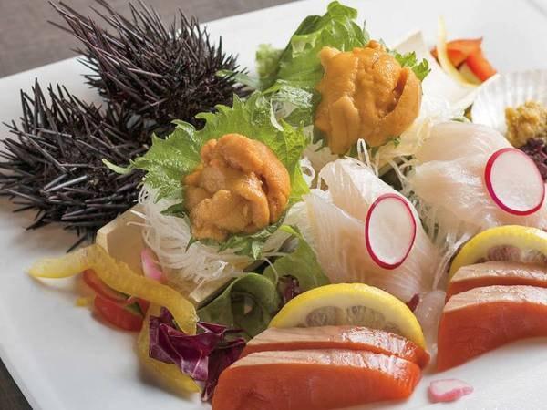 【夕食/例】鮮魚も味わえます