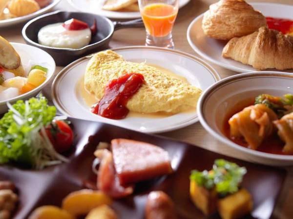 【朝食】創作和洋ブッフェ/例