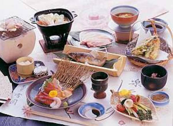 のんびり個室で食事を楽しむプラン/一例