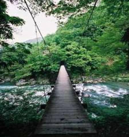見倉の吊り橋