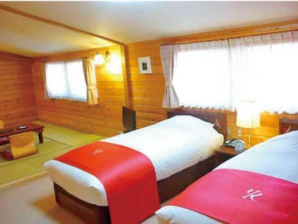 【和洋室/例】和の趣とベッドを備えたお部屋
