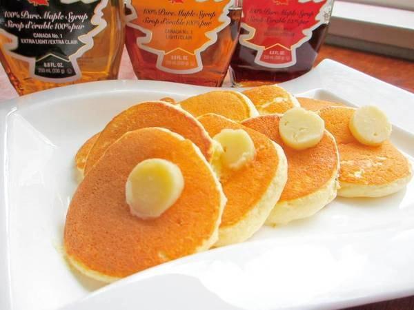 【朝食/例】ふわふわパンケーキは焼立てをご用意
