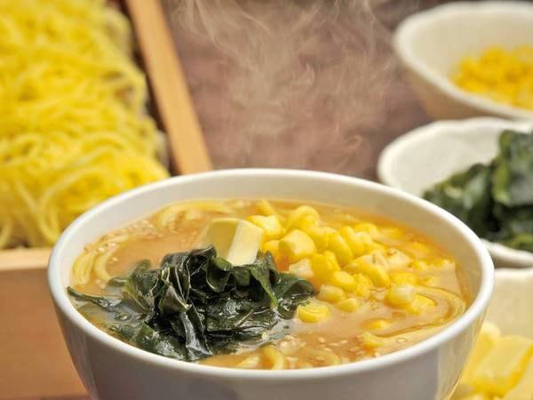 【朝食/例】自分で作る味噌ラーメン