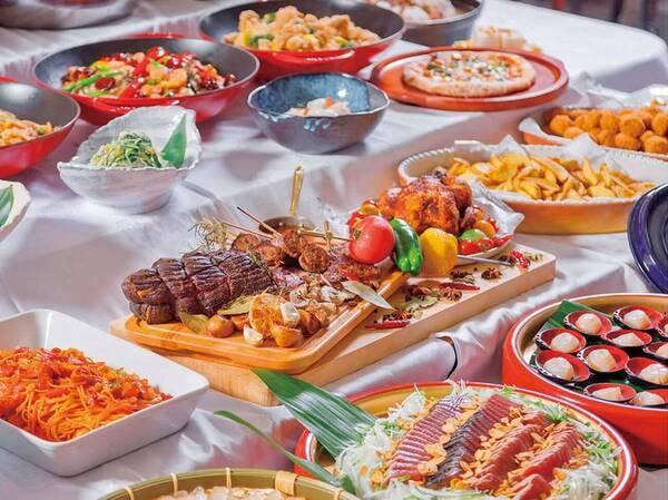 【和洋中約60種バイキング】出来立てのお料理をご提供/イメージ