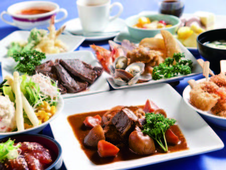 【夕食/盛り付け例】創業当時の味「ホテル特製ビーフシチュー」はぜひ!