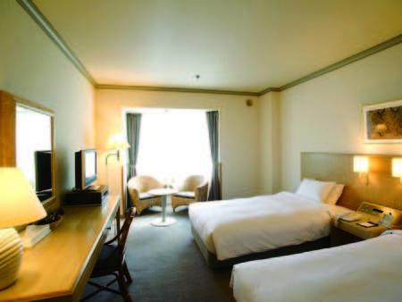 【洋室/例】ベッド派におすすめ!広さ27平米のツインルーム