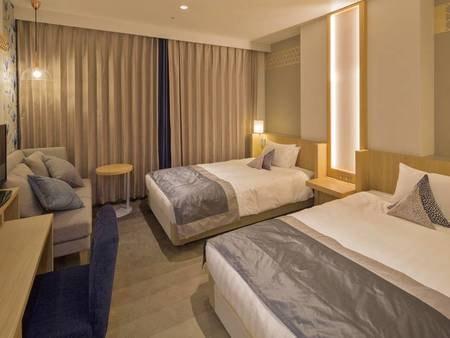 【コンフォートツイン/例】快適・安らぎ・心地よさを重視した客室で快適なご滞在を!
