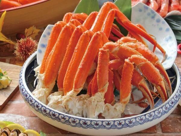 【夕食/例】人気のずわい蟹食べ放題♪