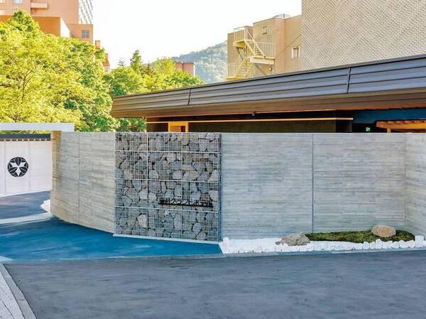 【外観】札幌の奥座敷・定山渓にある料理自慢の宿