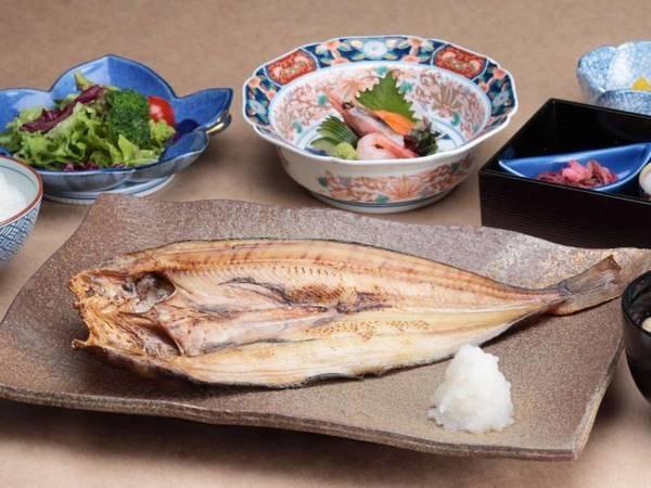 選べる北海道のご当地夕食(ほっけ定食) /例
