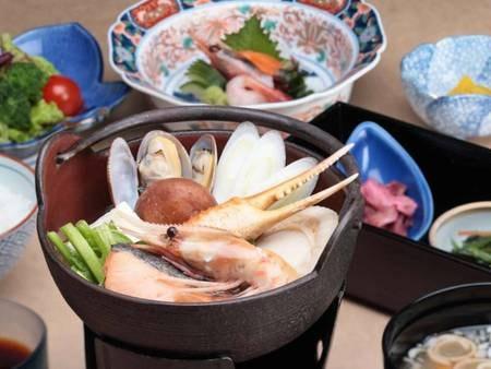 選べる北海道のご当地夕食(海鮮鍋) /例