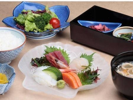選べる北海道のご当地夕食(お造り盛り合わせ) /例
