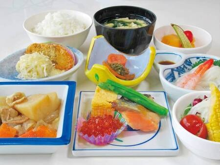 【朝食/例】定食の場合は「和定食」「洋定食」をお選びいただけます