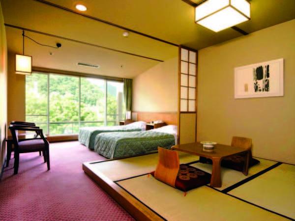 【客室/例】ツイン+4.5畳和洋室