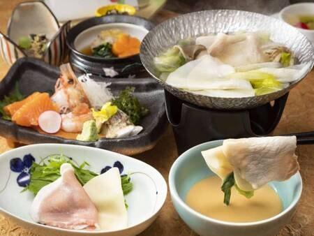 ~遊湯食彩~【ゆもと膳】一例(※時季により料理内容が変更いたします)