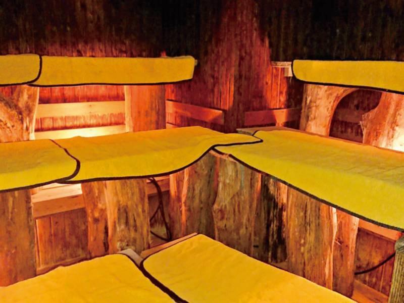 【大浴場(サウナ)】汗と共に老廃物を流してすっきり!安眠効果も期待できます