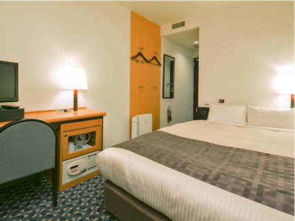 【客室/例】14平米の客室へご案内(ベッド幅140㎝以上)