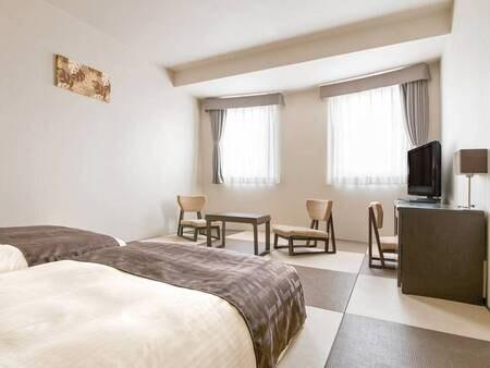 【和モダン客室/例】和の風情と洋の機能性が融合した室内で、足を伸ばしてゆったりと