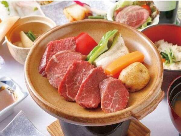 【しほろ牛肉ヒレ会席膳/例】しほろ牛のヒレ肉を使用!