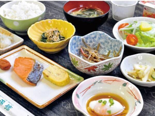 【朝食/例】朝の活力補給にぴったり、バランスの取れた和食膳