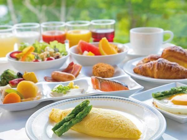 【朝食/例】ふんわりオムレツや新鮮野菜など和洋バイキング(セットメニューの場合あり)